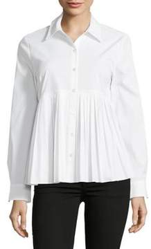 Context Pleated Front Shirt