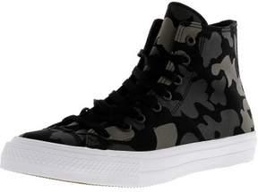 Converse Chuck Taylor All Star Ii Hi Charcoal / Black High-Top Canvas Fashion Sneaker - 14M 12M