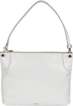 Hogan hobo Bag In White Calf Leather