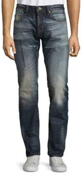 Cult of Individuality Rebel Straight Seven-Pocket Jeans