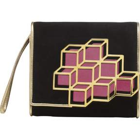 Pierre Hardy Black Suede Clutch bag