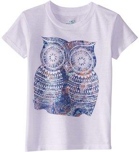 O'Neill Girls' Night Bird Tee Shirt (Toddler, Little Kid) 8168245