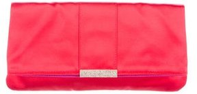 Dolce & Gabbana Embellished Satin Clutch w/ Tags - RED - STYLE