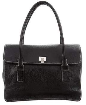Lambertson Truex Grained Leather Bag