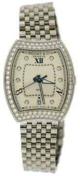 Bedat & Co No 3 315.071.109 Stainless Steel wDiamonds Automatic 33mm Womens Watch