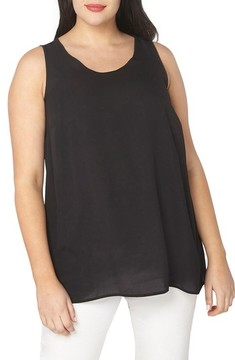 Evans Plus Size Women's Built-Up Tank