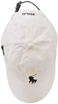 Polo Ralph Lauren White Embroidered Cap