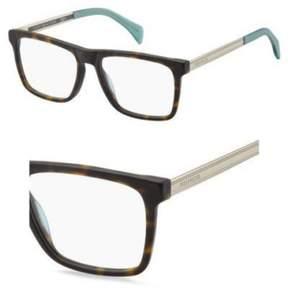 Tommy Hilfiger Eyeglasses T_hilfiger 1436 0SFV Dark Havana Light Gold Semi Matt