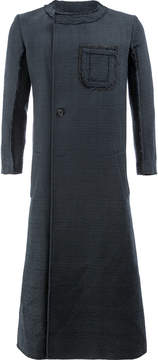 Yang Li long asymmetric front coat