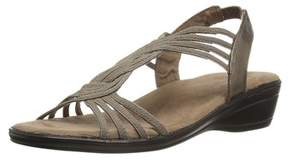 Easy Street Shoes Womens Natara Open Toe Casual Wedged Sandals.