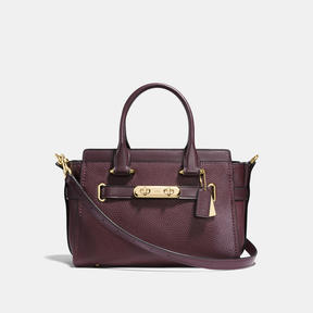 COACH Coach Swagger 27 - LIGHT GOLD/OXBLOOD - STYLE