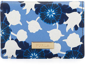 Furla Classic Floral Business Card Case