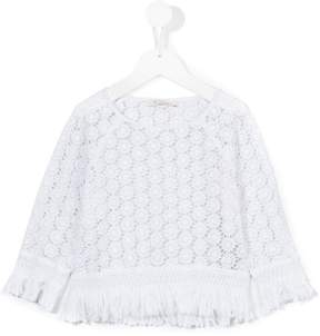 Dondup Kids crochet blouse
