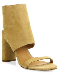 IRO Sigoat Suede Ankle-Cuff Sandals