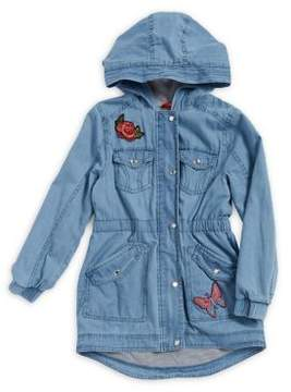 Urban Republic Girl's Chambray Cotton Jacket