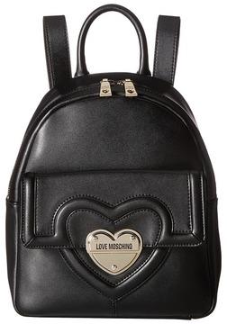 LOVE Moschino - Leather Mini Backpack Backpack Bags