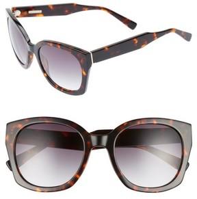 Derek Lam Women's Sadie 54Mm Sunglasses - Havana Tortoise