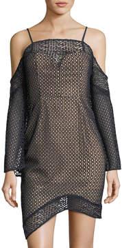 Keepsake Easy Love Lace Mini Dress