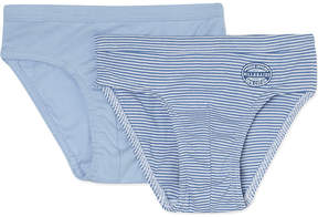 Petit Bateau Set of two cotton pants 2-12 years