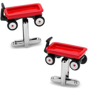 Asstd National Brand Red Wagon Cuff Link
