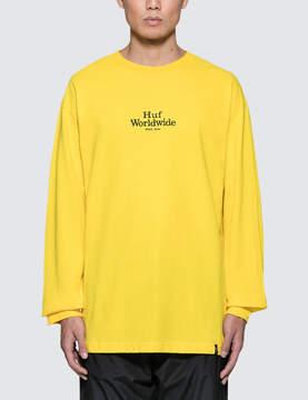 HUF Worldwide L/S T-Shirt