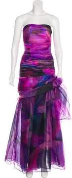 Matthew Williamson Printed Evening Dress