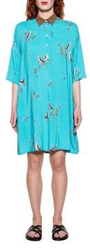 Bagutta Women's Blue Viscose Dress.