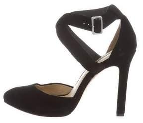Rachel Zoe Suede Ankle Strap Pumps