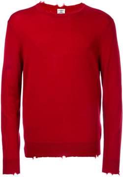 Kent & Curwen distressed jumper