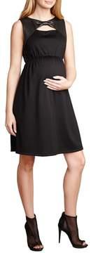 Maternal America Bow Shift Dress