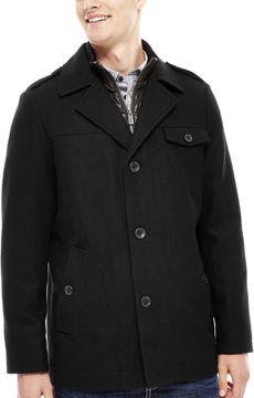i jeans by Buffalo Wool-Blend Blazer Coat