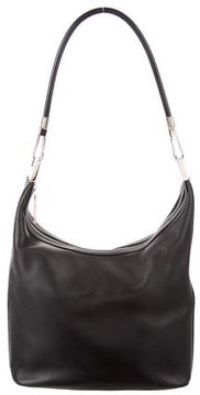 Gucci Leather Hobo - BLACK - STYLE