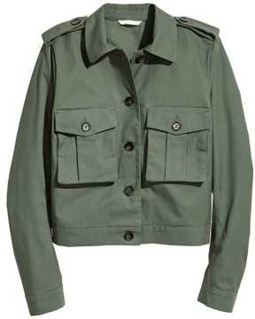 H&M Short Cargo Jacket