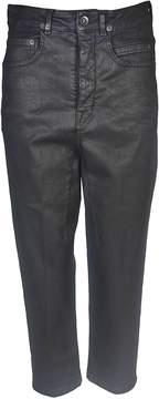 Drkshdw Rick Owens Cropped Jeans