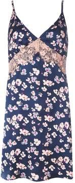 Dorothy Perkins Floral Satin Slip Dress