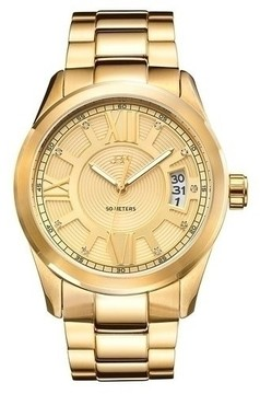 JBW Bond Gold Plated Stainless Steel Men's Watch