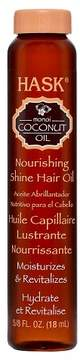 Hask Coconut Oil Nourishing Shine Oil Vial - 5.8oz