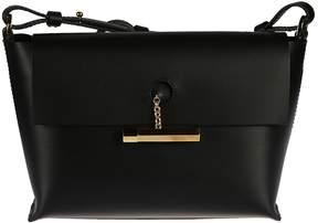 Sophie Hulme Tan Pinch Crossbody Bag