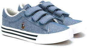 Ralph Lauren touch strap sneakers