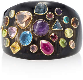 Ashley Pittman Upendo Horn and Multi-Stone Bangle