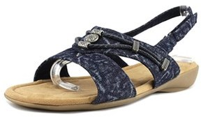 Minnetonka Silvie Women N/s Open-toe Canvas Slingback Sandal.