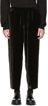 McQ Black Velvet Neukölln Trousers