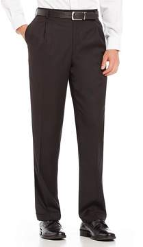 Roundtree & Yorke Ultimate Comfort Travel Smart Relaxed Fit Linen Look Dress Pants