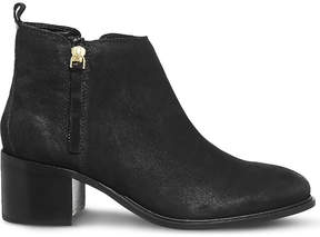 Office Algebra leather ankle boots