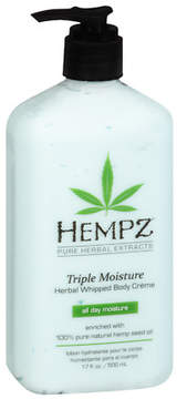 Hempz Triple Moisture Whipped Body Cream Herbal
