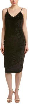Eight Sixty Velvet Filigree Midi Dress