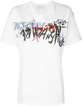IRO graffiti print T-shirt