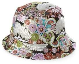 Steve Madden Embroidered Bucket Hat