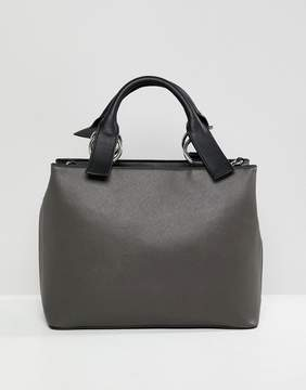 Asos DESIGN extended handle tote bag