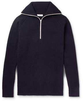 Cmmn Swdn Jock Wool-Blend Half-Zip Sweater